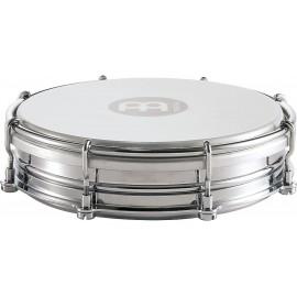 "Pandero Tamborin Floautune Meinl Percussion TBR06CH de 6"" pulgadas de acero cromado"