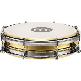 "Pandero Tamborin Floautune Meinl Percussion TBR06B de 6"" pulgadas (Brass) latón chapado en acero"