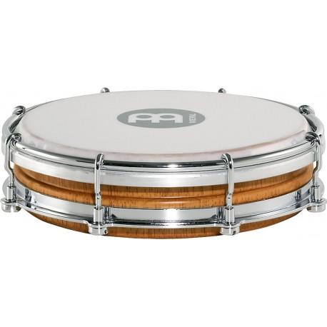 "Pandero Tamborin Floautune Meinl Percussion TBR06SNT-M de 6"" pulgadas de madera"