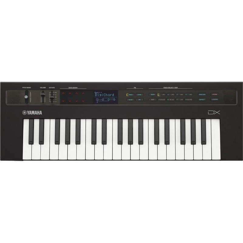 Teclado sintetizador profesional Yamaha reface DX