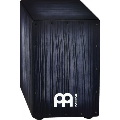 Cajon de percusión Meinl HEADLINER® Designer Strings cajons HCAJ2ATS TIGER STRIPED AZUL
