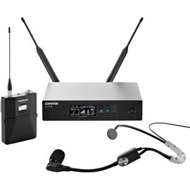 Sistema Micrófono Inalámbrico Profesional de Diadema Shure QLX-D14/SM35