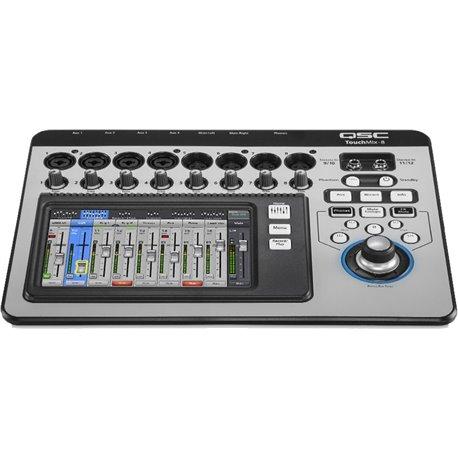 Mezcladora de audio Digital de 12 canales QSC TouchMix-8