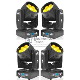 Estuche con 4 Cabezas Móviles Mini Wash Lite-Tek