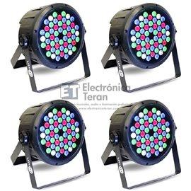 Caja con 4 piezas de PAR 54 LEDs de 3 Watts Lite-Tek