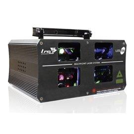 Laser de 4 salidas de 1 watt Lite-Tek L1457RGB