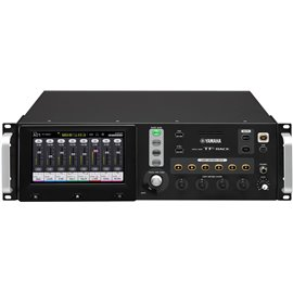 Mezcladora de audio digital Yamaha de 16 canales montable en Rack TF Rack