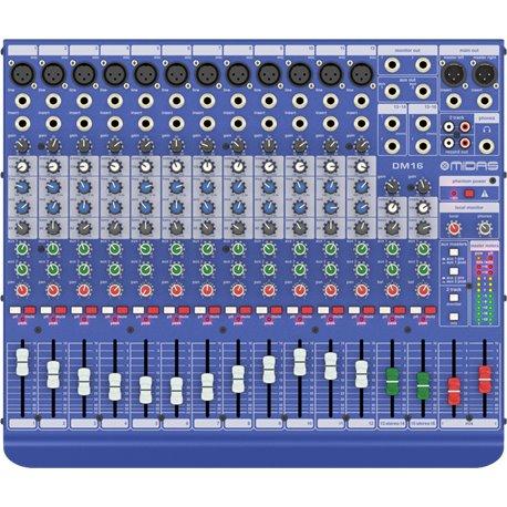 Mezcladora de Audio MIDAS DM16 de 16 canales