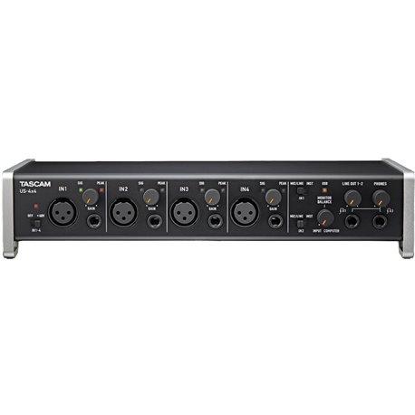Interfaz de audio USB/MIDI de 4 canales TASCAM US-4x4