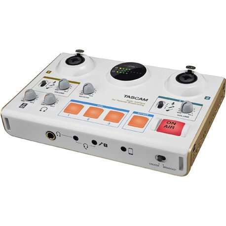 Interfaz de grabación TASCAM US-42 MiniStudio Creator para Broadcast