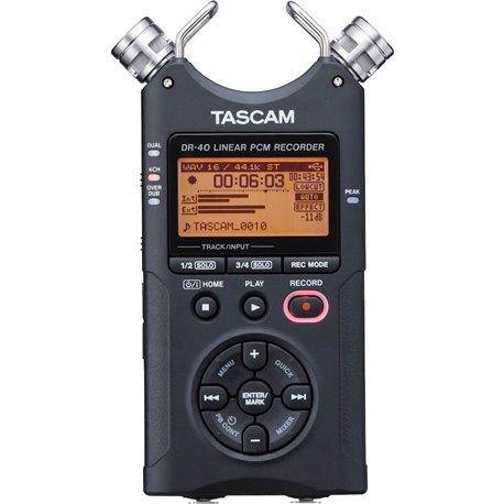 Grabadora de mano de 4 Pistas TASCAM DR-40