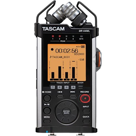 Grabadora de mano de 4 Pistas con conexión WIFI TASCAM DR-44WL