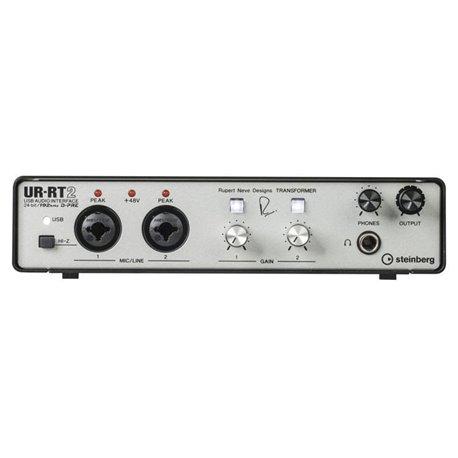 Interface de audio USB/MIDI de 2 canales Steinberg Rupert Neve UR-RT2