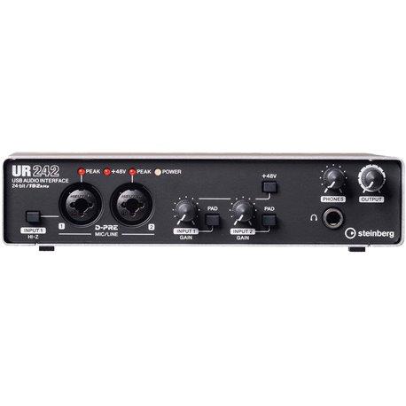 Interface de audio USB/MIDI Steinberg UR242 4 entradas 2 salidas