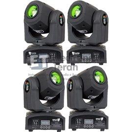 Estuche con 4 piezas de cabeza móvil Micro Spot SuperBright & Loud