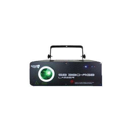 Laser de 300mw de color rojo, verde y azul SuperBright SB 380-RGB