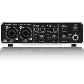 Interfaz para grabación de audio Behringer U-PHORIA UMC202HD