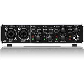 Interfaz para grabación de audio Behringer U-PHORIA UMC204HD