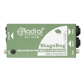 Caja directa pasiva StageBug SB-2 Radial Engineering