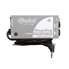 Caja directa Pasiva StageBug SB-5 Radial Engineering