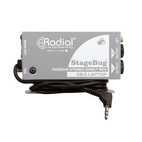 Caja directa Pasiva StageBug SB-5 Radial Engineering