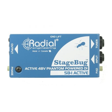 Caja directa Activa StageBug SB-1 Radial Engineering