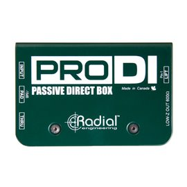 Caja directa Pasiva PRO DI Radial Engineering