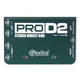 Caja directa Pasiva Estéreo PRO D2 Radial Engineering