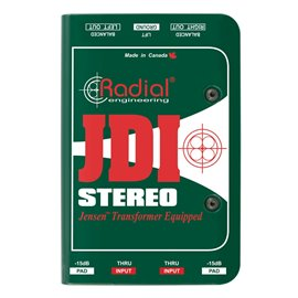 Caja directa pasiva estéreo JDI Stereo Radial Engineering