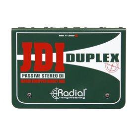 Caja directa pasiva estéreo JDI Duplex Radial Engineering