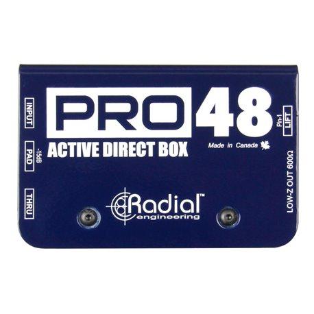 Caja directa Activa PRO 48 Radial Engineering