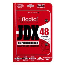 Caja directa Activa para amplificador de guitarra JDX 48 Radial Engineering