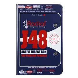 Caja directa Activa J48 Radial Engineering