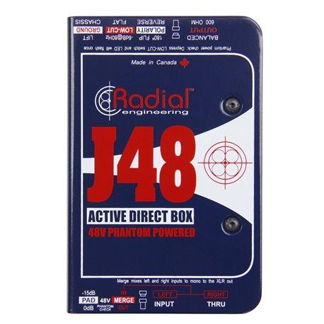 Caja directa Activa J48 Radial Engineering