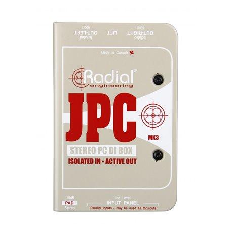 Caja directa Activa para computadora JPC Radial Engineering