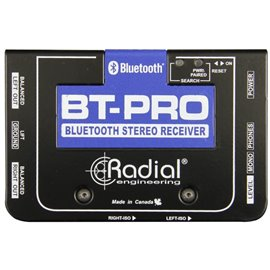 Caja directa Receptora de audio Bluetooth salida balanceada BT-PRO Radial Engineering