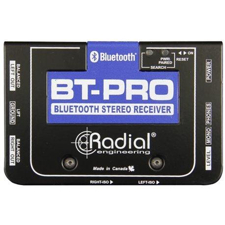 Caja directa Receptora de audio Bluetooth salida balanceada BT-PRO Radial Engineering