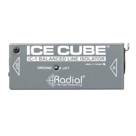 Aislador de ruido de línea balanceada IceCube IC-1 Radial Engineering