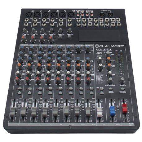 Mezcladora de audio de 12 canales con efectos CLY-124CX Claymore