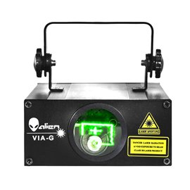 Laser de 60 mw de color verde VIA G Alien