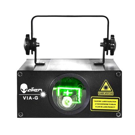 Laser de 60 mw de color verde VIA G Alien