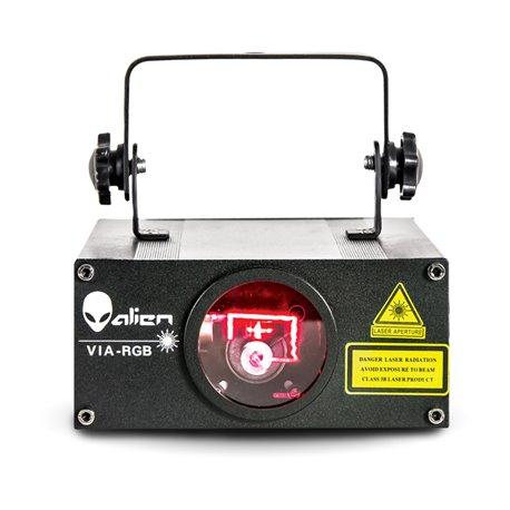 Laser de 500 mw de color rojo, verde y azul VIA RGB Alien
