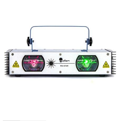 Láser de 2 salidas doble color Rojo 150 MW y Verde 60MW RG STAR Alien