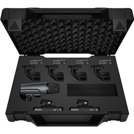 Set de 7 micrófonos para batería Sennheiser evolution set DrumKT600