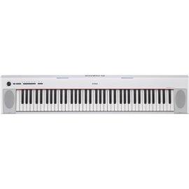 Piano Electrónico Yamaha NP-12WH color blanco