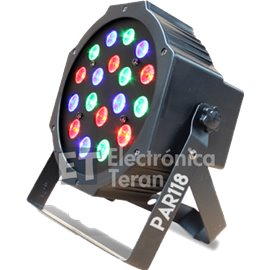 PAR 118 SuperBright 18 LED´s de 1 Watt de potencia