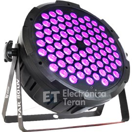 PAR 80UV Superbright 80 LED´s de 3 watts UV Luz negra