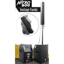 Sistema columna de audio portátil Melo Nitro 600