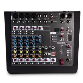 Mezcladora de audio Allen & Heat ZEDi-10 sin efectos con conexión USB