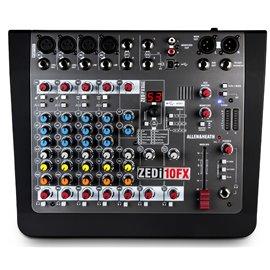 Mezcladora de audio Allen & Heat ZEDi-10FX con efectos y conexión USB